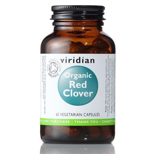 Viridian Organic Red Clover capsules
