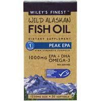 Wiley's Finest Peak EPA Capsules
