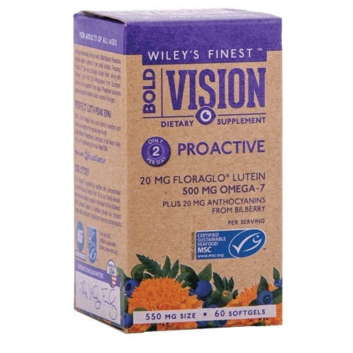 Wiley's Finest Vision fish oil