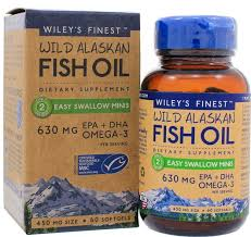 Wiley's Finest Easy Swallow mini Wild Alaskan fish oil