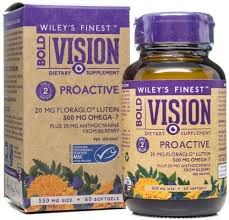 Wiley's finest Vision fish oil 60 capsules