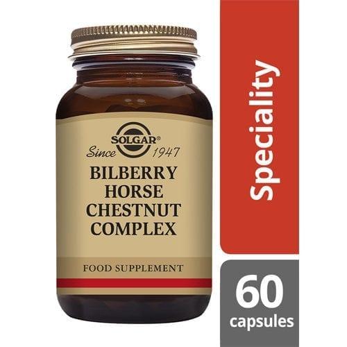 Solgar Bilberry horse chestnut 60 capsules