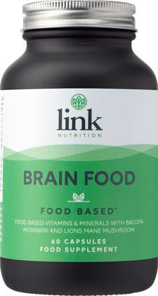 Link Nutrition Brain Food 60 capsules