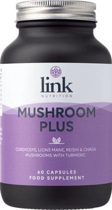 Link Nutrition Mushroom Plus 60 capsules