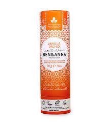 Ben and Anna Natural soda deodorant -Vanilla Orchid 60g
