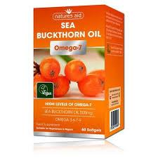 Natures Aid Omega 7 Sea buckthorn oil 60 softgels