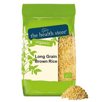 Organic Long Grain Brown Rice 1KG