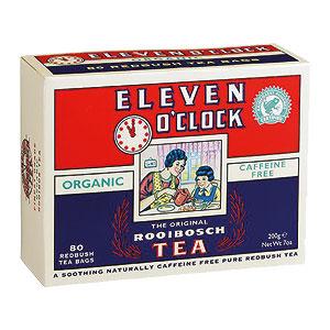 Eleven O'Clock Rooibos Tea 80 Tea Bags