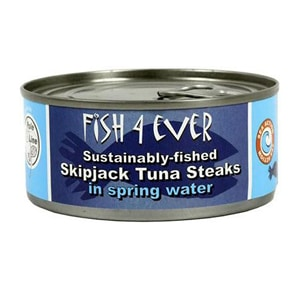 Fish 4 Ever Tuna Chunks in Spring Water 160g
