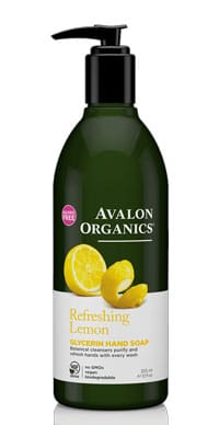 Avalon Organic Refreshing Lemon Glycerin Hand Soap 355ml
