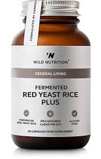 Wild Nutrition Red Yeast Rice 30 capsules