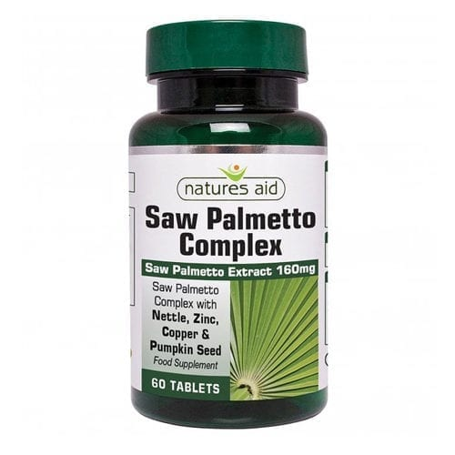 Natures Aid Saw Palmetto Complex
