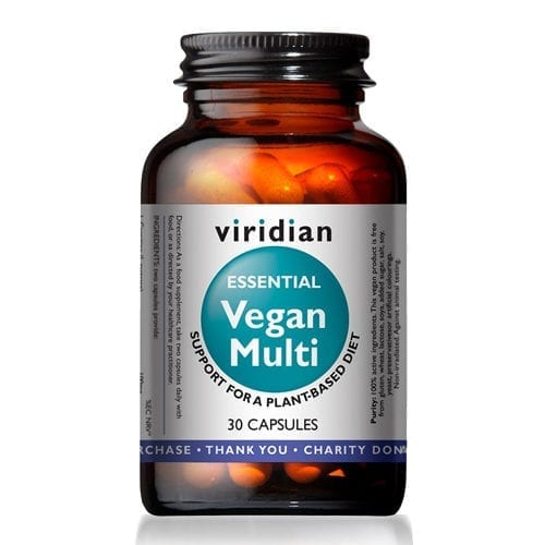 Viridian Essential Vegan Multi 30 capsules