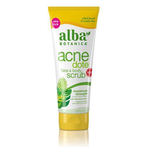 Alba AcneDote Face and Body scrub