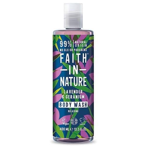 Faith in nature lavender body wash