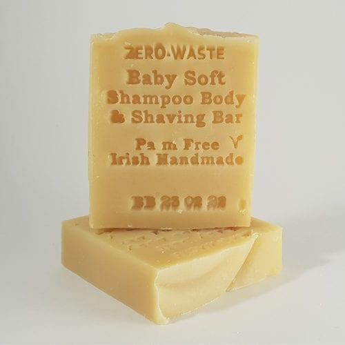 Palm free Babysoft shampoo bar