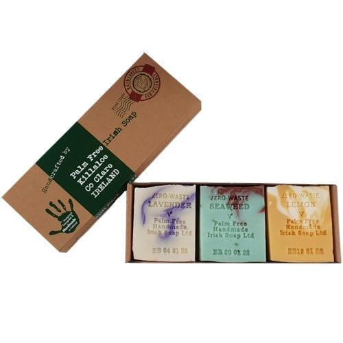 Palm free soap bar gift set