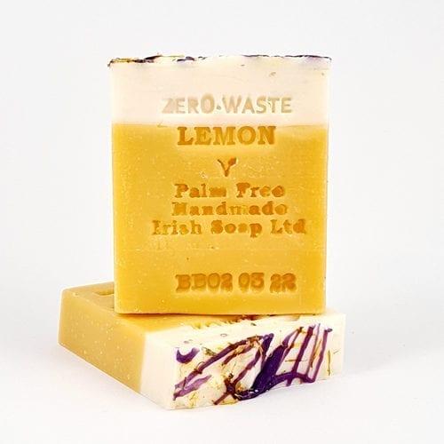 Palm free lemon soap