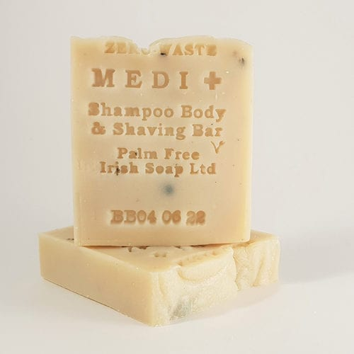 Palm free medicated shampoo bar
