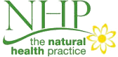 NHP: The Natural Health Practice (brand logo)