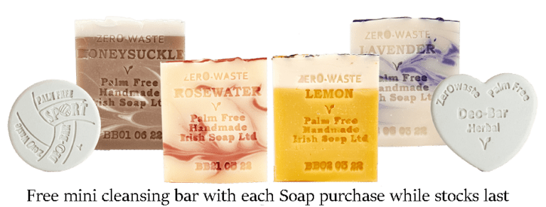 Palm Free Irish Soap Bars