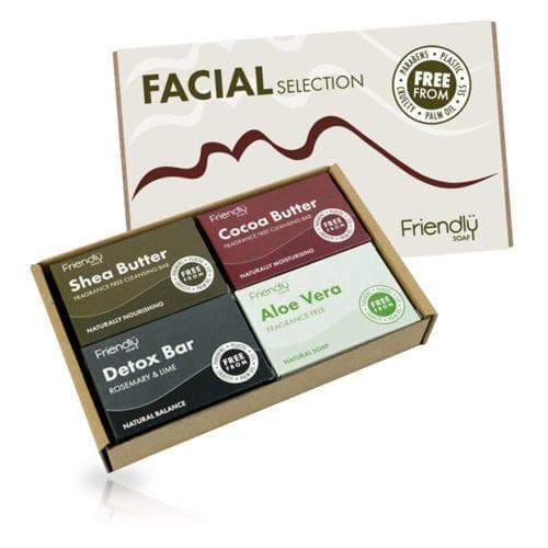 Friendly facial gift box