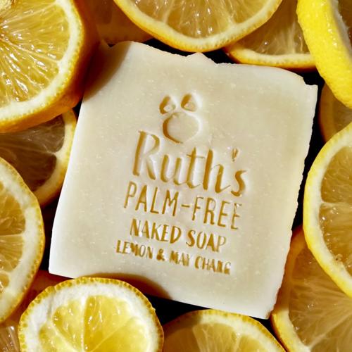 Ruths Naked Lemon and May chang soap