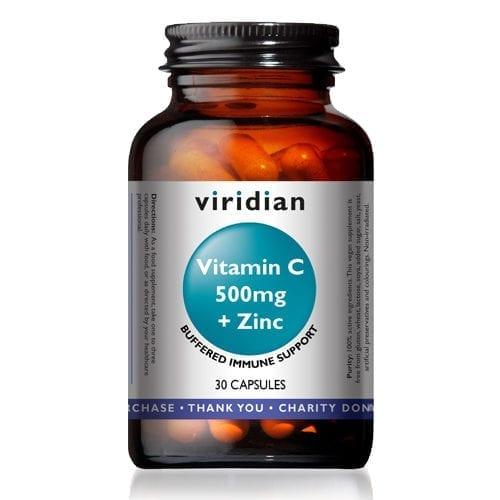 Viridian vitamin c 500 30 capsules