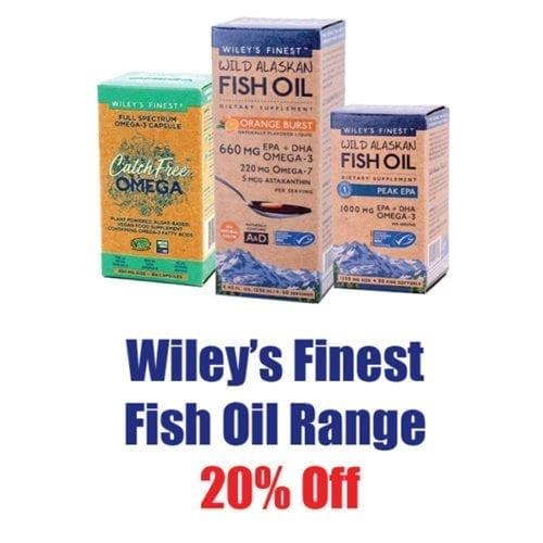 Wiley's Finest 20% off Range