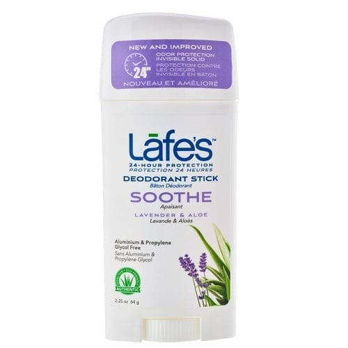 Lafes Soothe Twist Stick Deodorant