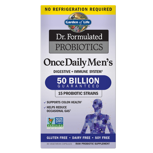 Microbiome Once Daily Men