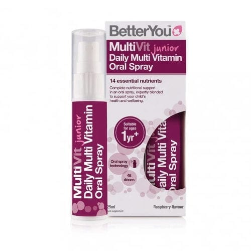 Better you multivit junior spray 25ml