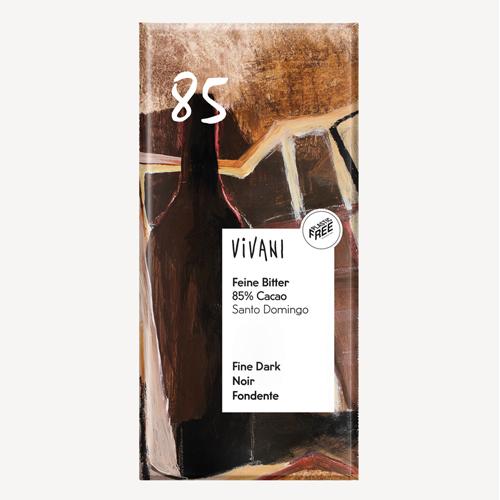 Vivani Fine Dark 85% Chocolate