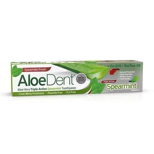Aloe Dent Spearmint Toothpaste