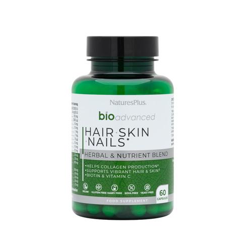 Natures plus Bioadvanced Hair skin & nails