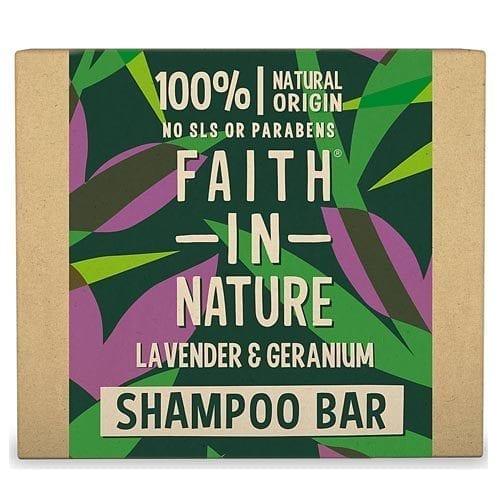 Faith in nature lavender and geranium shampoo bar