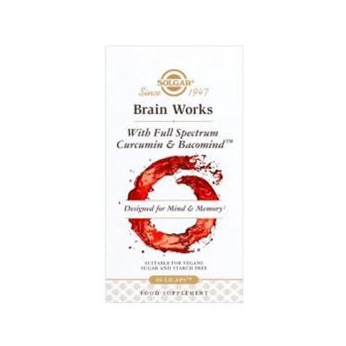Solgar Brain Works 60 Capsules