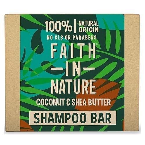 Faith in nature coconut and shea butter shampoo bar
