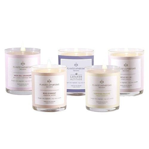 Plantes and Parfumes perfumed candle range