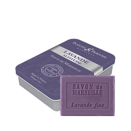 Plantes & Parfums Lavender soap and tin