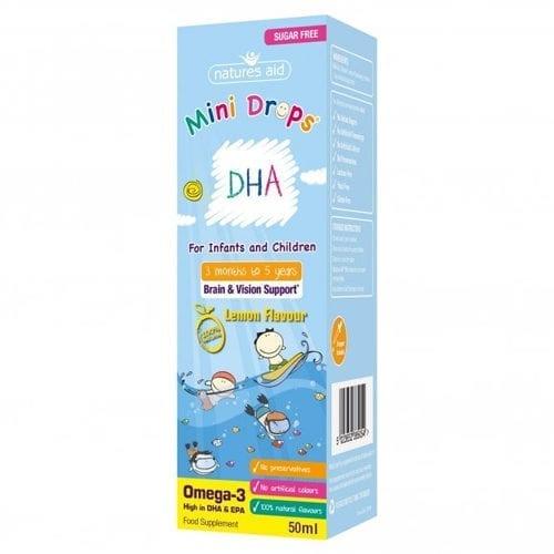 Natures Aid DHA mini drops 50ml
