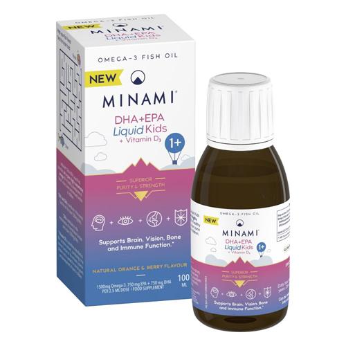 Minami DHA + EPA Liquid Kids 100ml