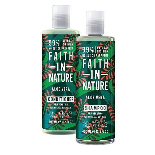 Faith In Nature Aloe Vera Shampoo With Free Conditioner