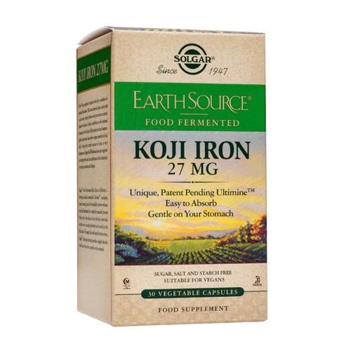 Solgar Koji Iron 30 capsules