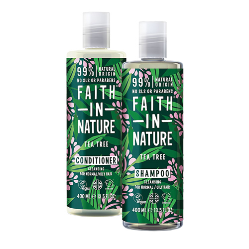 Faith in Nature Shampoo with free conditioner