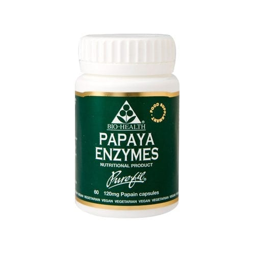 Bio-Health Papaya Enzymes 60 capsules