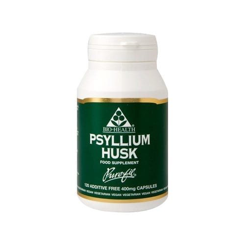 Bio-Health psyllium husk 120 capsules