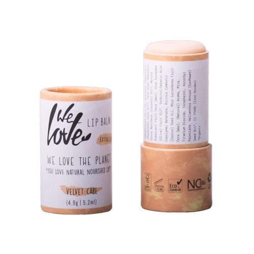 We love lip balm velvet care