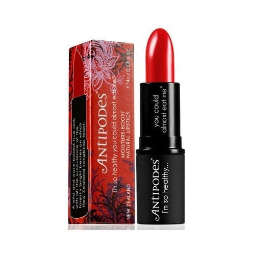 Antipodes Forest Berry Red lipstick