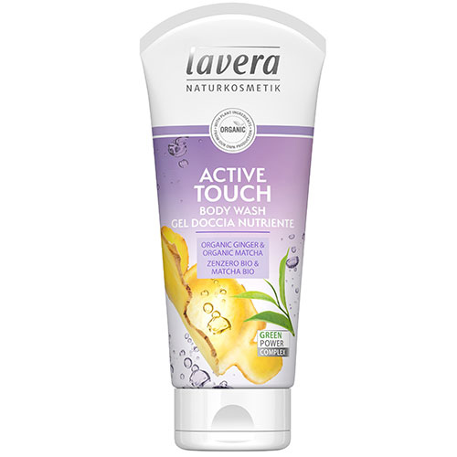 Lavera Active Touch Body Wash 200ml